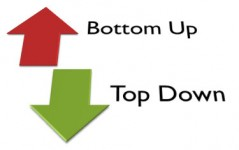 Top-down of bottom-up?