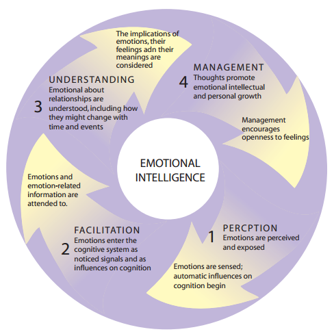 facets of emotional intelligence by salovey and mayer The 10 original facets of emotional intelligence proposed by salovey and mayer introduction: emotion is a relatively difficult concept to clearly delineate but it is generally accepted that it is an organised mental response that includes physiological, experiential and cognitive aspects (mayer et.